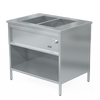 Bain Marie 2 GN, built-in