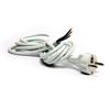 Power cable with EURO plug-in, white 97-048